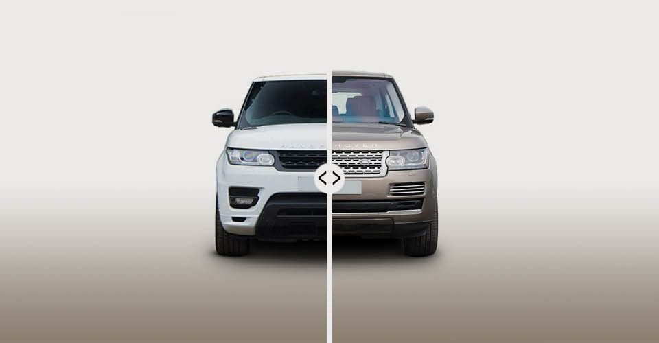 Range Rover Sport VS all the other cars.